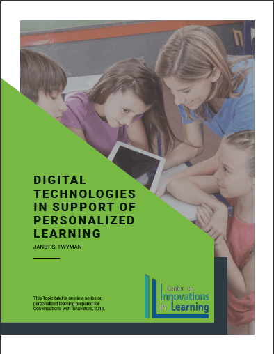 Digital Technologies in Support of Personalized Learning