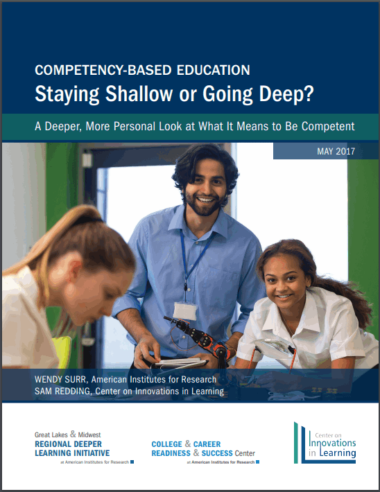 Competency-Based Education: Staying Shallow or Going Deep